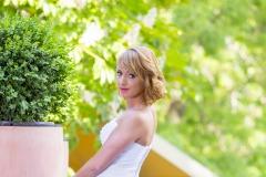 Empie fazonú uszályos menyasszonyi ruha Gyömrő 031 a Mystic Moment Esküvői Szalonban Gyömrőn