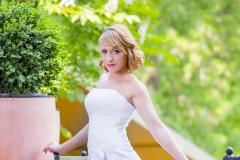 Empie fazonú uszályos menyasszonyi ruha Gyömrő a Mystic Moment Esküvői Szalonban Gyömrő 030