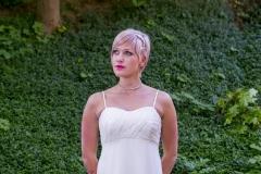 Empire Kismama menyasszonyi ruha Gyömrő 029 a Mystic Moment Esküvői Szalonban Gyömrőn