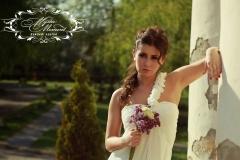 Tengerparti félpántos menyasszonyi ruha a Mystic Moment Esküvői Szalonban Gyömrőn