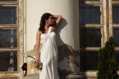 Tengerparti félpántos menyasszonyi ruha 1 a Mystic Moment Esküvői Szalonban Gyömrőn