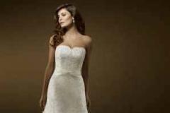 A vonalú menyasszonyi ruha Mystic Moment Esküvői Ruhaszalon Gyömrő