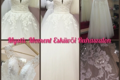 egyszerű csipkés menyasszonyi ruha