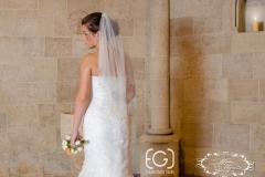 Sellő fazonú uszályos ruha a Mystic Moment Esküvői Ruhaszalonban Gyömrőn