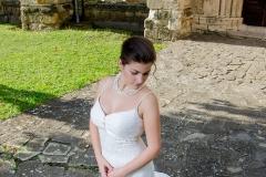 tört fehér vintage csipke menyasszonyi ruha Mystic Moment Esküvői Ruhaszalon Gyömrő