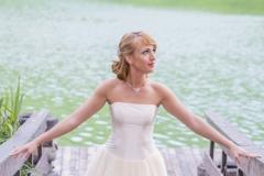Rövid fazonú menyasszonyi ruha Gyömrő 039