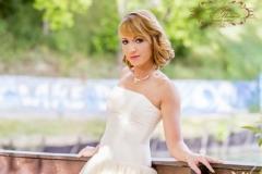 Rövid fazonú menyasszonyi ruha Gyömrő 042 a Mystic Moment Esküvői Ruhaszalonban Gyömrőn