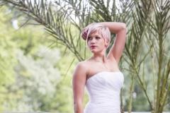 Sellő fazonú menyasszonyi ruha Gyömrő 039