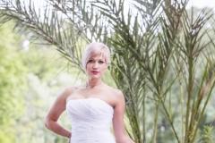 Sellő fazonú menyasszonyi ruha Gyömrő 040