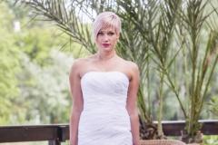 Sellő fazonú menyasszonyi ruha Gyömrő 041
