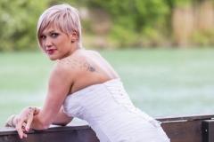 Sellő fazonú menyasszonyi ruha Gyömrő 042
