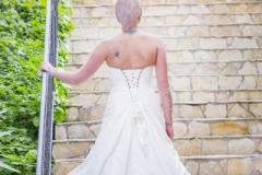 Uszályos menyasszonyi ruha Gyömrő 042