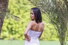 rozsaszínű menyasszonyi ruha Gyömrő 034 a Mystic Moment Esküvői Ruhaszalonban Gyömrőn