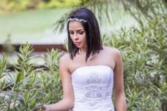 rozsaszínű menyasszonyi ruha Gyömrő 035 a Mystic Moment Esküvői Ruhaszalonban Gyömrőn