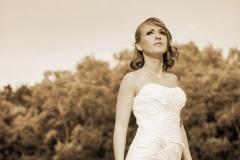 Sellő fazonú menyasszonyi ruha Gyömrő 050