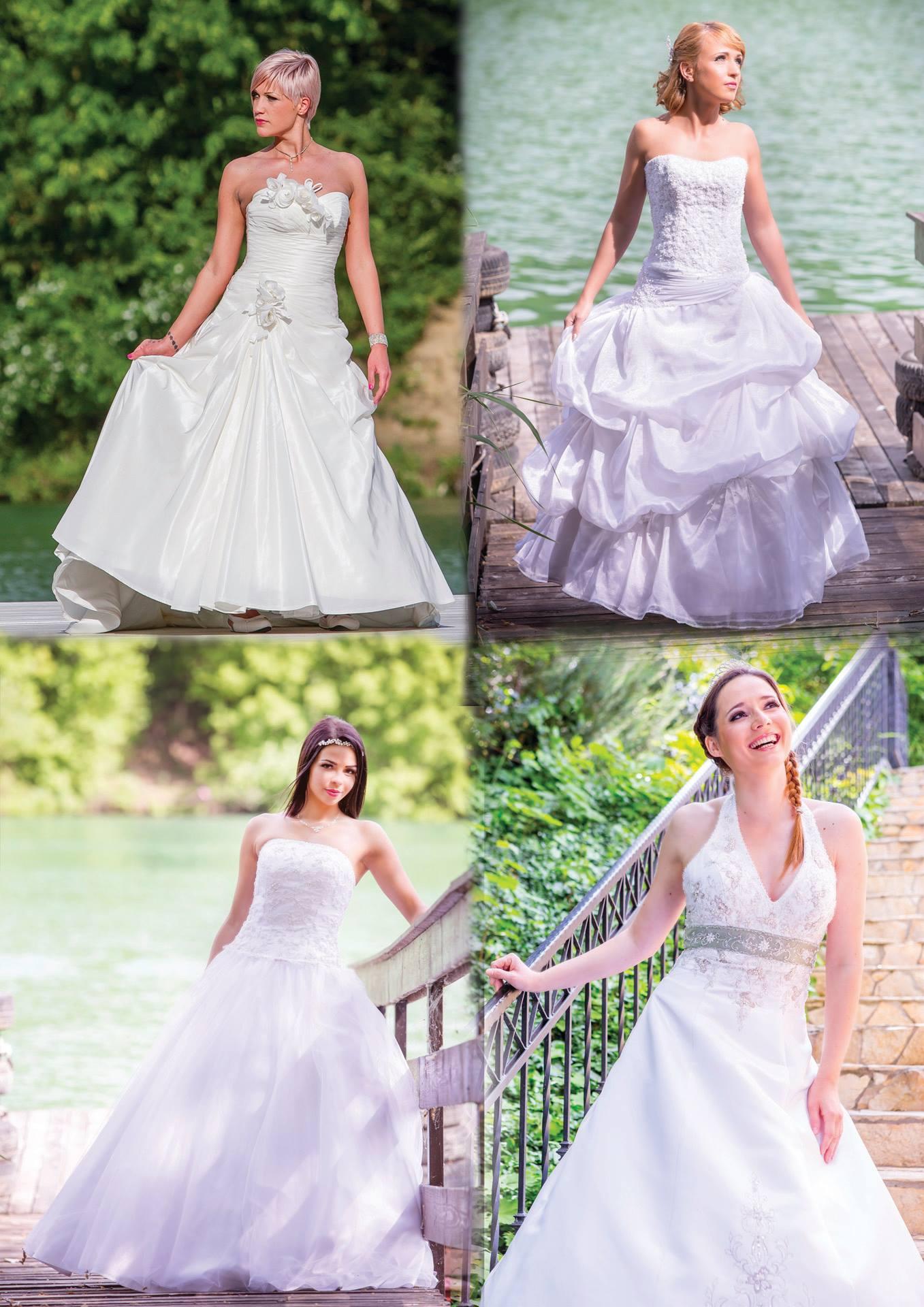 A fehér menyasszonyi ruha története- Mystic Moment Esküvői Szalon 7503818cc1