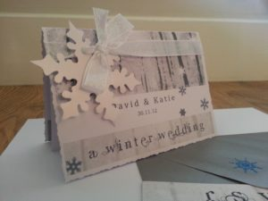 Téli Esküvői meghívó